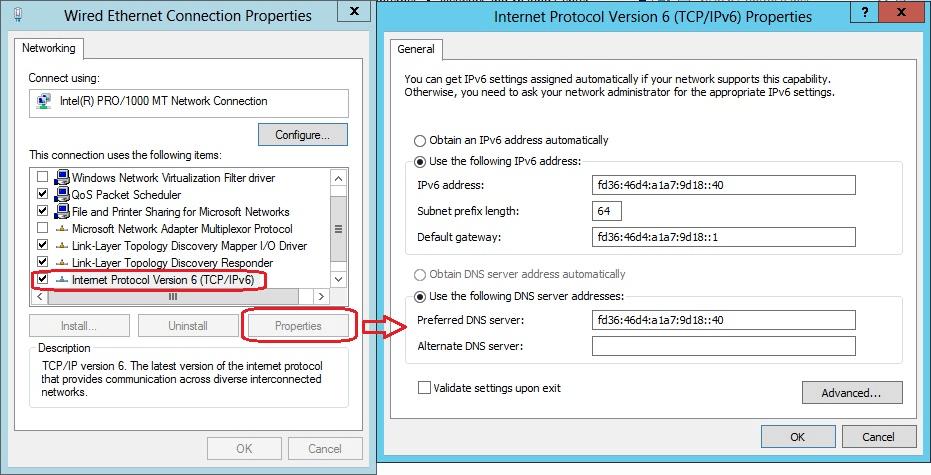 Configure IPv6 (2)